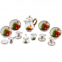 Christmas - 15 Pc Coffee Set