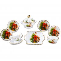 Christmas - 9 Pc Dinner Set