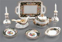Dinner Set - Irish Pattern