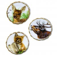Wall Plates - Hunting Animals - (3 Pack)