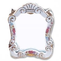 Baroque Mirror Dresdner Rose