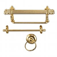 Bathroom Wall Holder Golden