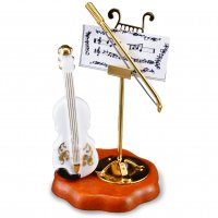 Violin With Music Stand