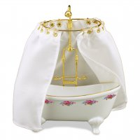Dresdner Rose Shower Bathtub With Curtain