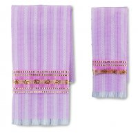 Towel Set - Rose & Gold (2 In Pack)