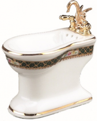 Bidet - Irish Pattern