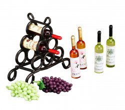 WINE BOTTLE CAGE
